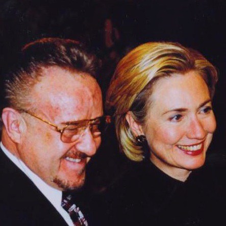 bassam-estwani-with-hillary-clinton